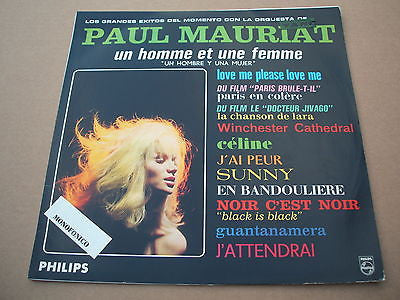 paul mauriat  rare mono lp  south american / colombian pressing lp easy lounge