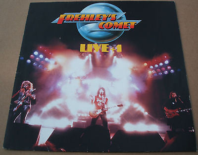 frehley's comet [ kiss ] megaforce worldwide label vinyl 4 track 12 inch single