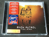 snow patrol final straw  original 2004  uk 12 track compact disc stickered case