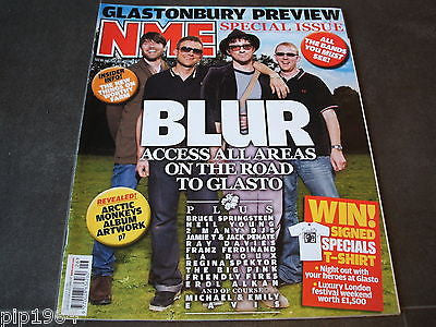 new musical express  nme  27th jun  2009   front cover  blur