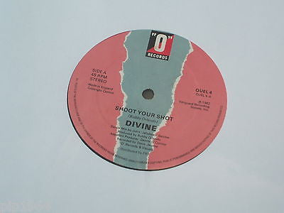 divine  shout your shot  1982 o label disco hi energy classic excellent