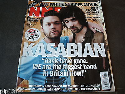 new musical express  nme  31 oct  2009   front cover  kasabian