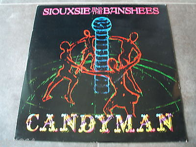 "siouxsie & the banshees candyman  1986 uk vinyl 12"" single  gothic pop excellent"