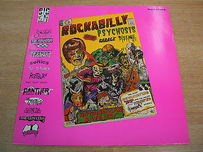 "rockabilly psychosis  1984 uk big beat label 12"" vinyl lp  rockin ' garage  ex"