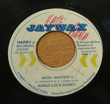 "reco boaco & the stepping stones   bookmaster   1974 jawax label  7"" vinyl 45"