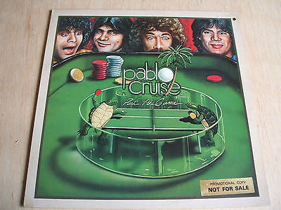 pablo cruise part of the game 1979  uk issue vinyl lp  soft rock powerpop promo
