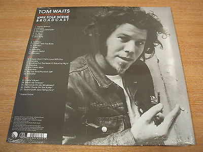 Tom Waits - On The Scene '73 (KPFK Folk Scene Broadcast) 2x vinyl LP mint sealed