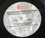 Television personalities the strangely beautiful e.p. 1991 uk fire label vinyl