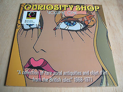 curiosity shop vol 1 blue vinyl lp mint hand numbered ltd 1000 1968-71 uk psych