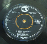 elvis presley a mess of blues original 1960 uk issue vinyl 45