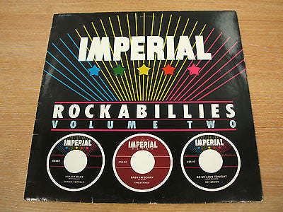 imperial rockabillies vol 2  1981  french issue  vinyl lp  various R n R