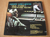 jerry lee lewis ole tyme country music original 1970 sun label vinyl lp ex ex