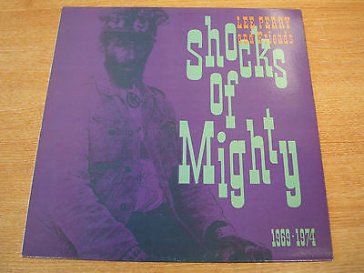 lee perry & friends shocks of mighty 1969-1974 uk attack label vinyl lp mint-