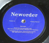 "new order fine time 1988 uk factory label 7"" vinyl 45 alternative pop manchester"