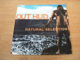 "out hud natural selection 1998 usa issue  7"" vinyl 45 experimental alt electro"