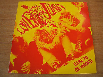 "love junk dare to be wrong1991 uk mollycore label  vinyl 12"" single"