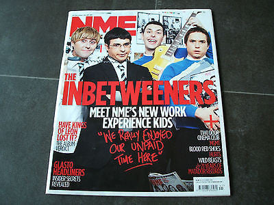 new musical express nme 16.10.2010 inbetweeners