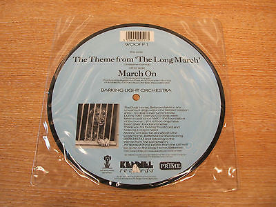 the theme from the long march   1988 uk issue 7 inch picture disc single