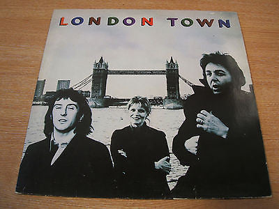 wings  london town 1978 netherlands pressing vinyl lp   excellent