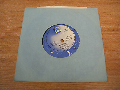 "david winter reed island 1978 uk blue inc label 7"" vinyl 45 obscure pop rare"
