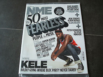 new musical express nme 12.6.2010 kele strokes oasis