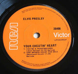 elvis presley  your cheating heart original oz  issue vinyl 7 inch single  e.p
