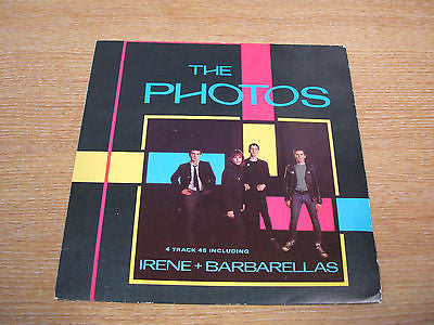 "the photos irene & barbarellas  1980 uk  issue vinyl 7"" single excellent  newave"