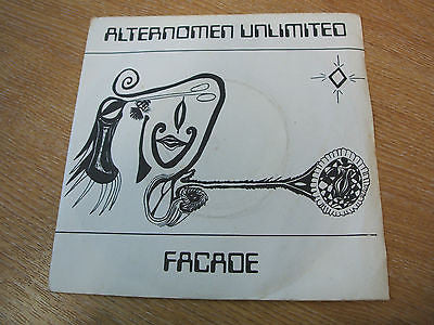 "alternomen unlimited facade 1979  uk diy 7"" minimal synth experimental"