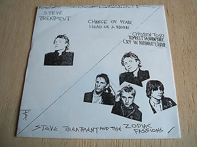 "steve treatment  change of plan  1979 uk vinyl 7"" 45 rare d.i.y  punk glam rock"