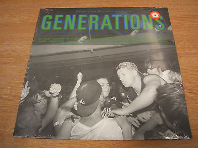 revelation records generations hardcore punk coloured vinyl lp brand new sealed
