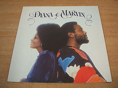 diana & marvin original 1973 uk motown vinyl lp stma 8015   excellent soul