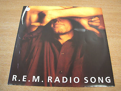 "R.E.M. radio song 1991 uk issue 12 "" vinyl ep   excellent alt pop rock"