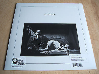 joy division closer Vinyl  LP  Album Reissue 180 Gram mint sealed + mp3 download