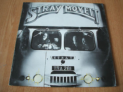 stray move it  1974 uk transatlantic lp tra 281 die cut sleeve + inner excellent