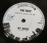 "the rest    my house   1980  uk shooting star label   7"" vinyl 45"