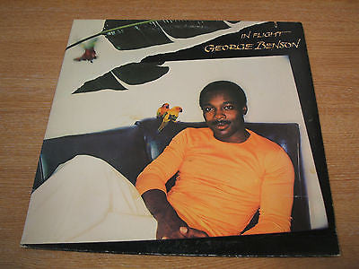 george benson  in flight  1977 usa issue  vinyl lp  excellent smooth jazz soul