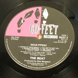 the beat   wha'ppen  1981 uk go feet label  vinyl lp  ska pop mod