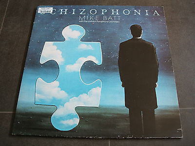 mike batt schizophonia 1977 epic lp epc 82001 near mint