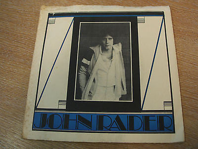 "john rader one step at a time / get you back 1979 usa  issue  vinyl 7"" 45"