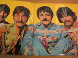 the beatles sgt peppers loneley hearts club band  1973 french pressing  ex ex