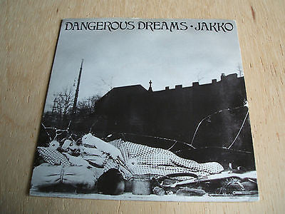 "jakko   dangerous dreams   1986 uk mdm  label  7"" vinyl   synth pop"
