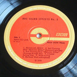 sound effects number 3  1970   bbc recordings sound effects vinyl lp  mint -