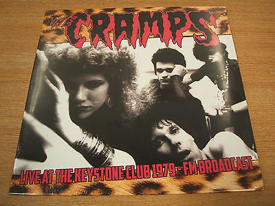 The Cramps Live AT The Keystone Club 1979-FM Broadcast  mint / brand new vinyl