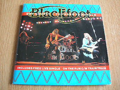 "blackfoot  dry county  double 7"" gatefold double pack atco label excellent"