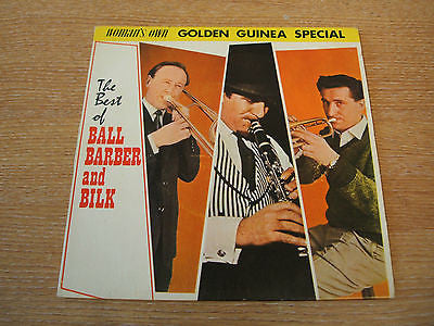 the best of ball barber & bilk 1963 pye golden guinea  label vinyl 45