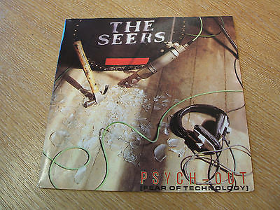 "the seers psych out  1990  uk  7"" vinyl 45  indie alt rock"
