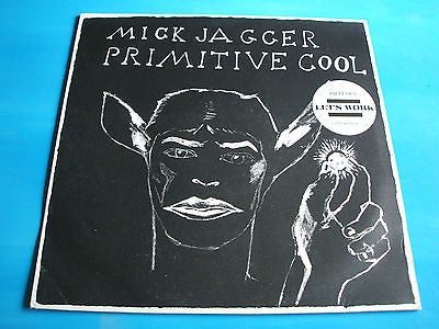 mick jagger   primitive cool  1987 uk cbs  label vinyl l   lp  rolling stones