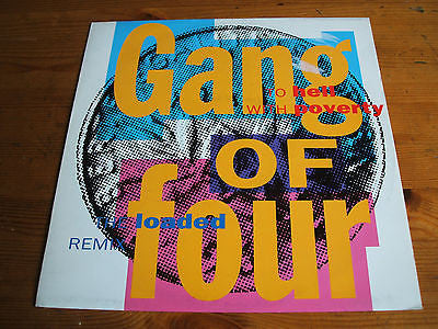 "gang of four to hell with poverty 1991 the loaded mix  uk issue 12"" vinyl ep"