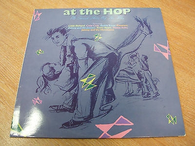 at the hop 16 smash hits of the 50's  1989 uk complilation vinyl lp excellent
