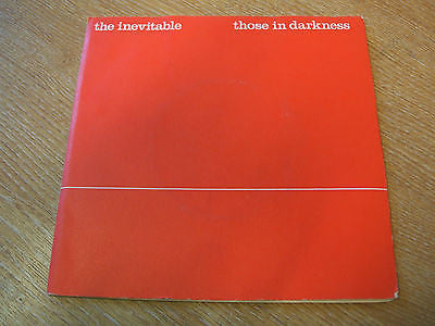 "the inevitable  those in darkness  1980 uk   vinyl 7"" vinyl 45 experimental jazz"